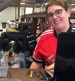 Courtney Keys & a Helper